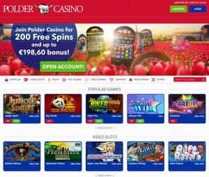 Polder casino review